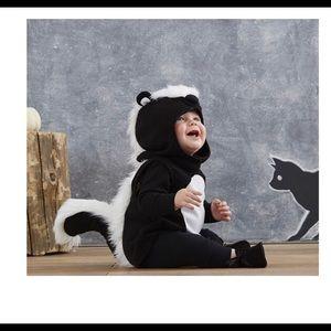 New! So stinking cute Skunk costume.